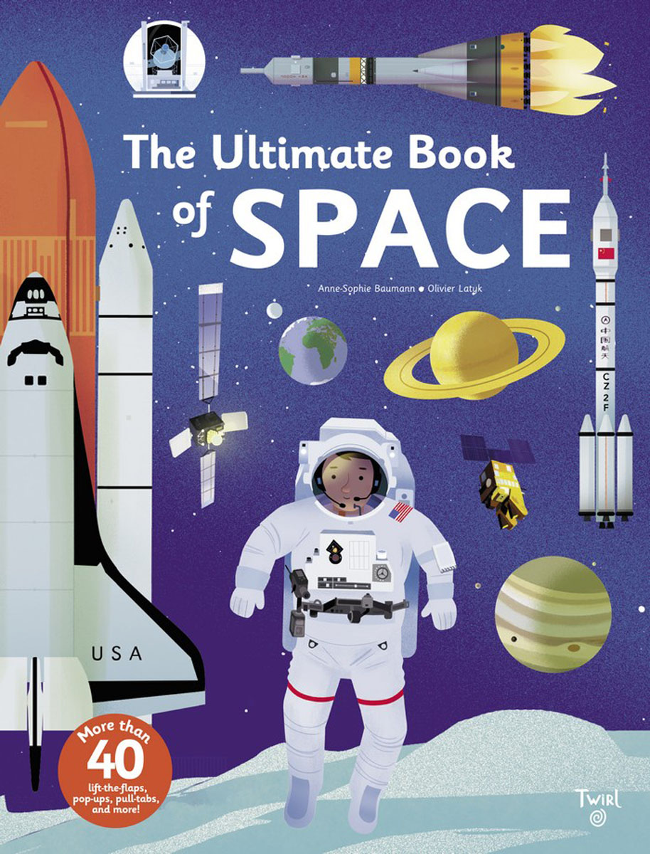 The Ultimate Book of Space space activity book
