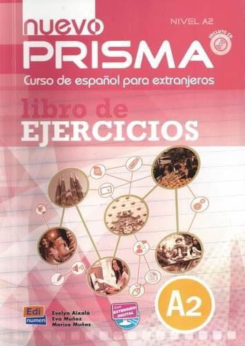 Nuevo Prisma: A2: Libro de ejercicios (+ CD)