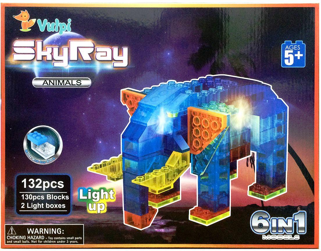 Sky Ray Конструктор В мире животных 6 в 1