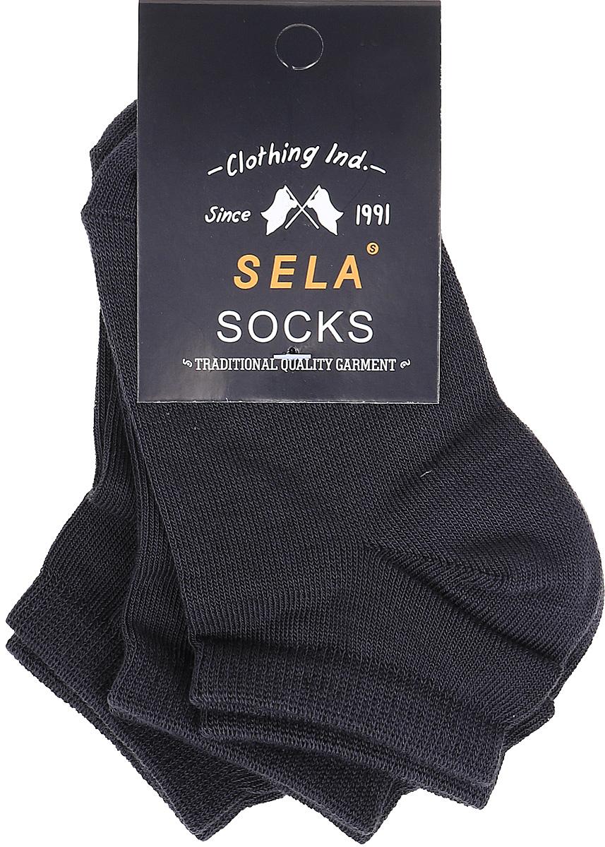 Носки для мальчика Sela, цвет: коричневый, 3 пары. SOb-7854/063-7412-3set. Размер 20/22SOb-7854/063-7412-3setКомплект Sela состоит из трех пар укороченных носков для мальчика, изготовленных из высококачественного приятного на ощупь материала. Благодаря содержанию мягкого хлопка в составе, кожа сможет дышать, а эластан позволяет носкам легко тянуться, что делает их комфортными в носке. Мягкая эластичная резинка плотно облегает ногу, не сдавливая ее, и обеспечивает комфорт и удобство. Уважаемые клиенты! Размер, доступный для заказа, является длиной стопы.