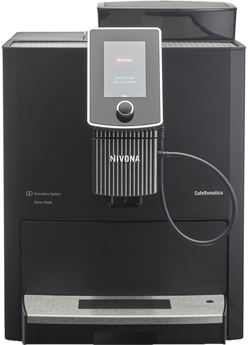 Nivona CafeRomatica NICR 1030 кофемашинаТВОС-00687Кофемашина Nivona CafeRomatica 1030 отлично подходит для небольших офисов и больших домов.Усовершенствуйте баланс между работой и жизнью: новая модель кофемашины CafeRomatica 1030 создана компанией Nivona для клиентов, питающих огромную страсть к кофе. Модель 1030 имеет крупные габариты, работает быстрее и укомплектована новейшими технологиями, например, инновационной системой сбалансированного аромата. Эта модель отлично отвечает потребностям и требованиям частного домашнего хозяйства, офисного сообщества или предприятия малого бизнеса. Фирма, ведомство или простой салон красоты и парикмахерская: с помощью модели 1030 вы можете сохранить до 18 персонализированных рецептов кофе для коллег, сотрудников и клиентов.Новая модель Nivona CafeRomatica 1030: восхитительный способ вдохновить покупателей, мотивировать сотрудников или повысить качество жизни дома.В зависимости от предпочтений вы можете сначала приготовить: 1. кофе, а затем молоко (пену), 2. молоко (пену) 3. затем кофе или оба напитка вместе.Система Одно касание: Одно касание Spumatore Duo для приготовления двух чашек капуччино одновременно с использованием сенсорного дисплея. Два термоблока позволяют сократить количество времени, требуемого для приготовления напитков, в силу одновременного нагрева пара для горячего молока и пены, а также воды для горячего кофе. Система сбалансированного аромата (Aroma Balance System) -кофемашина имеет три ароматических профиля для достижения максимального аромата и точно сбалансированной экстракции.Кофемашина поддерживает управление с помощью смартфона через Bluetooth и специальное приложение.