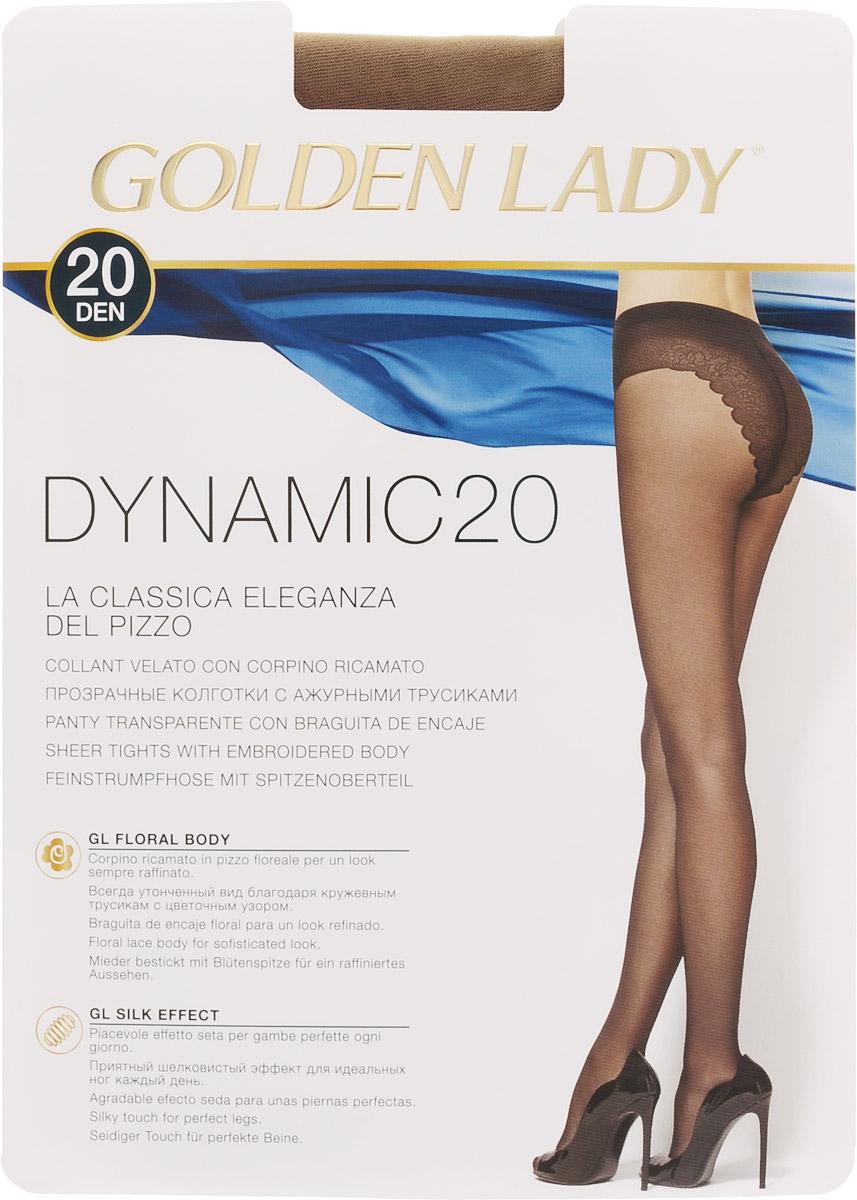 Колготки женские Golden Lady Dinamic 20, цвет: натуральный. SSP-001517. Размер 3 цены онлайн