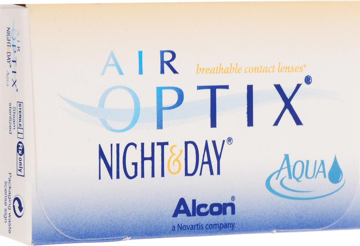Alcon-CIBA Vision контактные линзы Air Optix Night & Day Aqua (3шт / 8.6 / -4.75)44405Само название линз Air Optix Night & Day Aqua говорит само за себя - это возможность использования одной пары линз 24 часа в сутки на протяжении целого месяца! Это уникальные линзы от мирового производителя Сiba Vision, не имеющие аналогов. Их неоспоримым преимуществом является отсутствие необходимости очищения и ухода за линзами. Линзы рассчитаны на непрерывный график ношения. Изготовлены из современного биосовместимого материала лотрафилкон А, который имеет очень высокий коэффициент пропускания кислорода, обеспечивая его доступ даже во время сна. Наивысшее пропускание кислорода! Кислородопроницаемость контактных линз Air Optix Night & Day Aqua - 175 Dk/t. Это более чем в 6 раз больше, чем у ближайших конкурентов. Еще одно отличие линз Air Optix Night & Day Aqua - их асферический дизайн. Множественные клинические исследования доказали, что поверхность линз устраняет асферические аберрации, что позволяет вам видеть более четко и повышает остроту зрения. Ежемесячные контактные линзы Air Optix Night & Day Aqua характеризуются низким содержанием воды. Именно это позволяет снизить до минимума дегидродацию. В конце дня у вас не возникнет ощущения сухости глаз или дискомфорта. С ними вы сможете наслаждаться жизнью. Контактные линзы Air Optix Night & Day Aqua смогли доказать, что непрерывное ношение линз - это безопасный и удобный метод коррекции зрения! Характеристики:Материал: лотрафилкон А. Кривизна: 8.6. Оптическая сила: - 4.75. Содержание воды: 24%. Диаметр: 13,8 мм. Количество линз: 3 шт. Размер упаковки: 9 см х 5 см х 1 см. Производитель: США. Товар сертифицирован.Контактные линзы или очки: советы офтальмологов. Статья OZON Гид