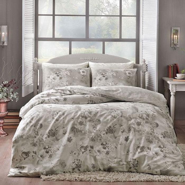 Комплект белья TAC Allure, 2-спальный, наволочки 50x70 см3081-20672Роскошный комплект постельного белья TAC Allure выполнен из качественного сатина. Комплект состоит из пододеяльника, простыни и двух наволочек. Пододеяльник застегивается на пуговицы.Сатин - гладкая и прочная ткань, которая своим блеском, легкостью и гладкостью похожа на шелк, но выгодно отличается от него в цене. Сатин практически не мнется, поэтому его можно не гладить. Ко всему прочему, он весьма практичен, так как хорошо переносит множественные стирки.Доверьте заботу о качестве вашего сна высококачественному натуральному материалу.Советы по выбору постельного белья от блогера Ирины Соковых. Статья OZON Гид