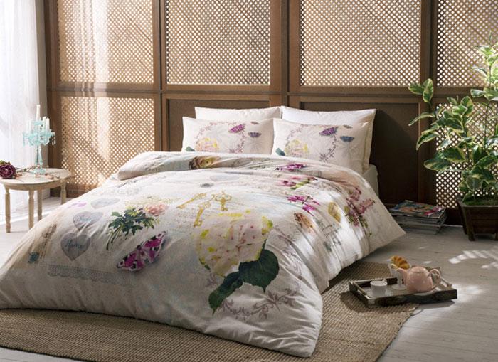 Комплект белья TAC Claire, 2-спальный, наволочки 50x70 см