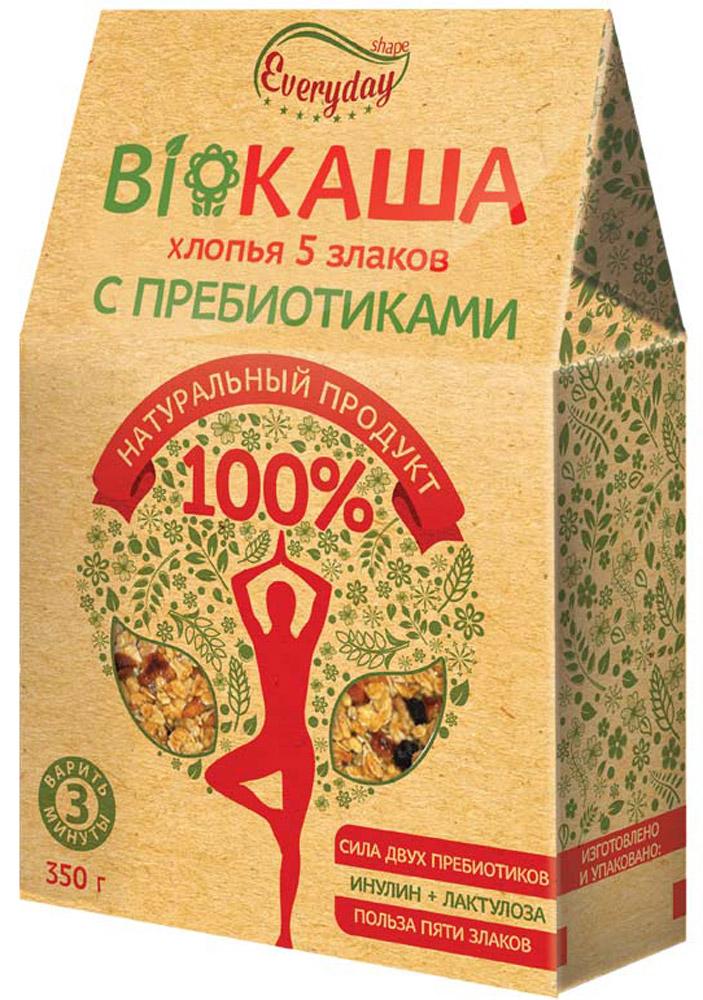 Everyday Bioкаша 5 злаков c пребиотиками, 350 г