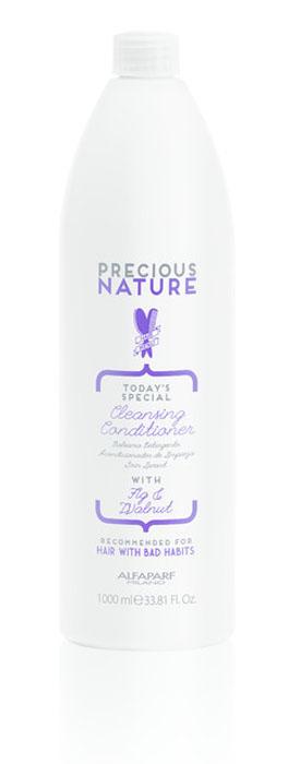 Alfaparf Precious Nature Cleanse Conditioner for Bad Hair Habits Очищающий кондиционер для волос с вредными привычками, 1000 мл кондиционер professionnelle conditioner energy&gloss 1000 мл