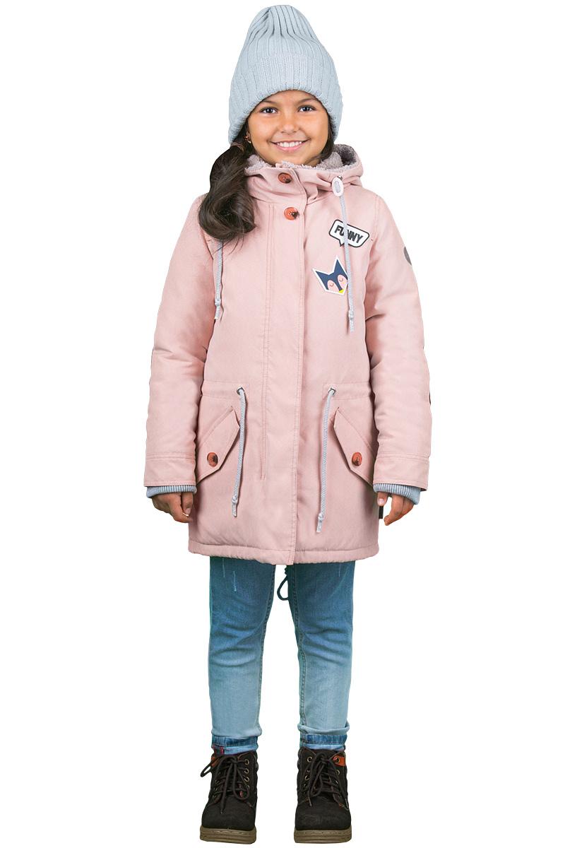 Парка для девочки Boom!, цвет: розовый. 70328_BOG_вар.1. Размер 152, 11-12 лет70328_BOG_вар.1Куртка-парка от Boom! - практичное решение сразу для двух сезонов. Благодаря подстежке, которую можно надевать и снимать, в такой куртке ребенку будет тепло и комфортно как осенью, так и зимой. Актуальные цвет, стильные детали и ткань с бархатистым эффектом придают любимой многими модели дополнительного шарма.Модель застегивается на молнию и имеет ветрозащитную планку на пуговицах и кнопках.