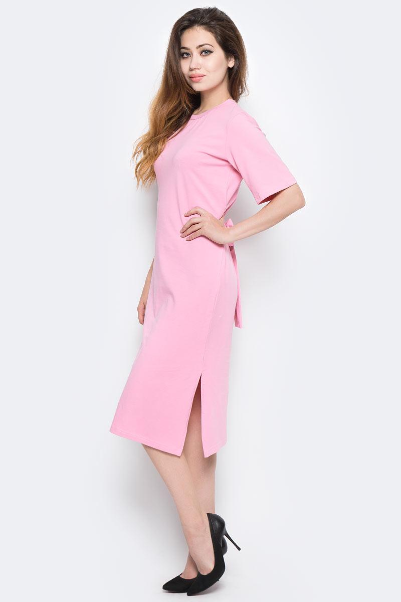 Платье Kawaii Factory, цвет: светло-розовый. KW177-000057. Размер 42/46KW177-000057