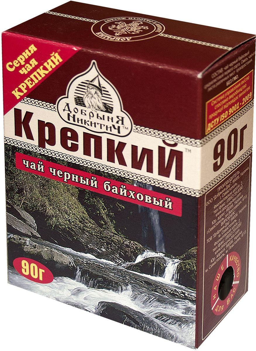 Добрыня Никитич Крепкий черный чай среднелистовой, 90 г