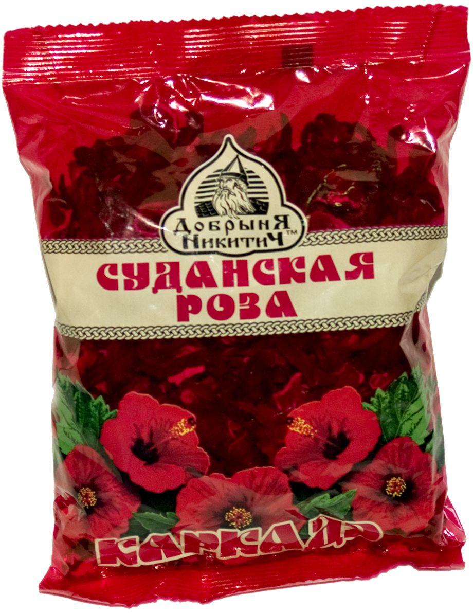Добрыня Никитич Каркаде цветочный чай, 70 г гринфилд чай фруктовый