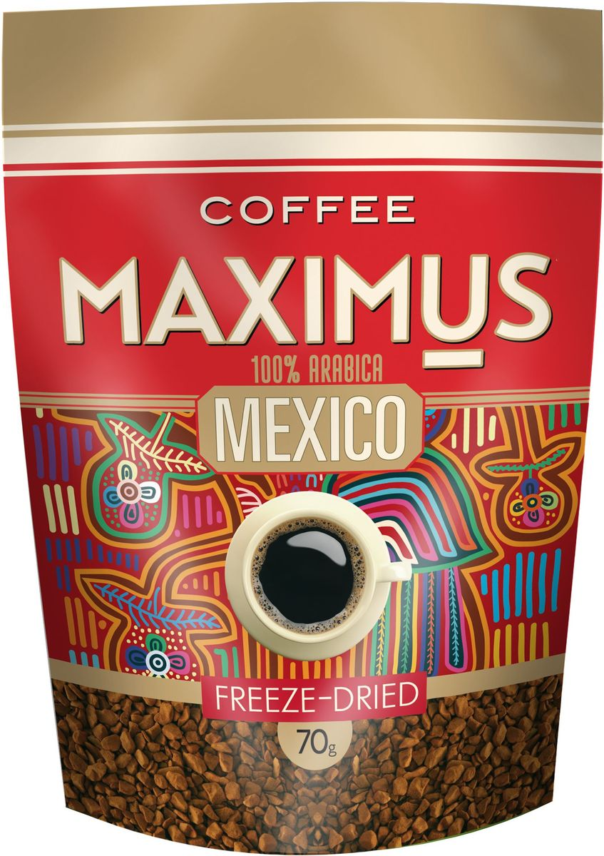 Maximus Mexico кофе растворимый, 70 г carlos rivera mexico
