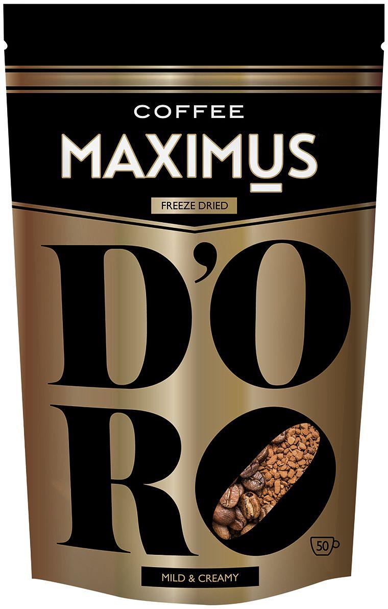 все цены на Maximus D'oro кофе растворимый, 70 г онлайн