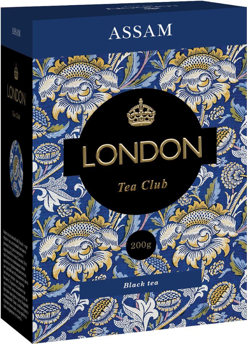 London Tea Club Assam крупнолистовой черный чай, 200 г туника qed london qed london qe001ewron49
