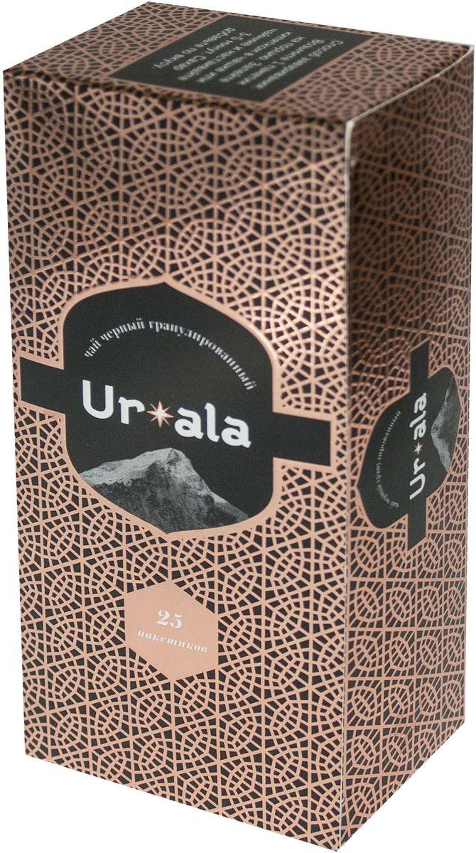 УР-АЛА чай черный гранулированный в пакетиках, 25 шт4607051543508Гранулированный чай обладает тонизирующим действием, дает крепкий, насыщенный настой с глубоким терпким вкусом. Отлично подойдет для любителей по-настоящему крепкого чая.Всё о чае: сорта, факты, советы по выбору и употреблению. Статья OZON Гид