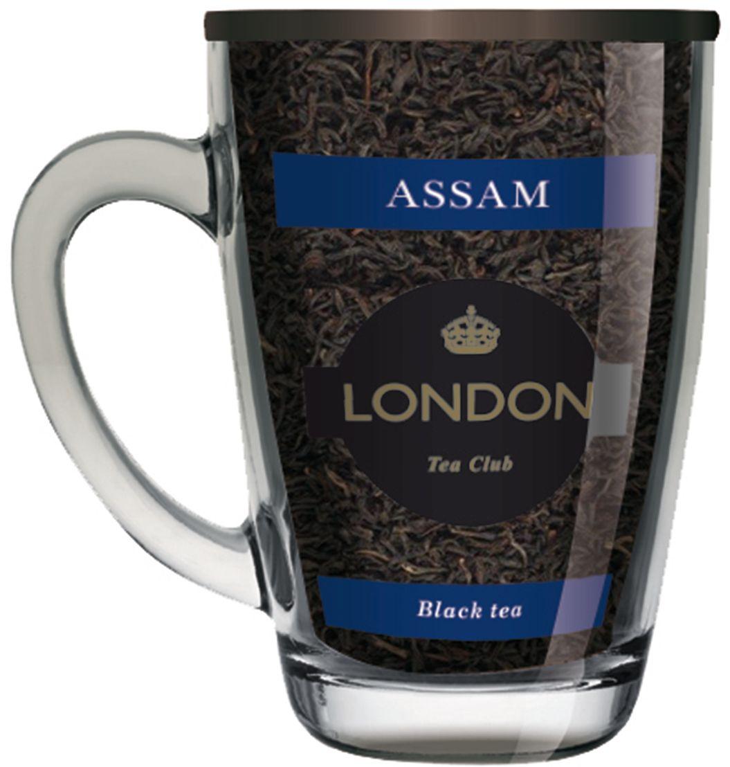 London Tea Club Ассам чай черный в стеклянной кружке, 70 г4607051543539Великолепный индийский Assam - достаточно терпкий и пряный, чтобы дарить бодрость, и достаточно мягкий, чтобы стать источником спокойствия и удовлетворения. Именно поэтому англичане считают его универсальным напитком, который можно пить в любое время дня.