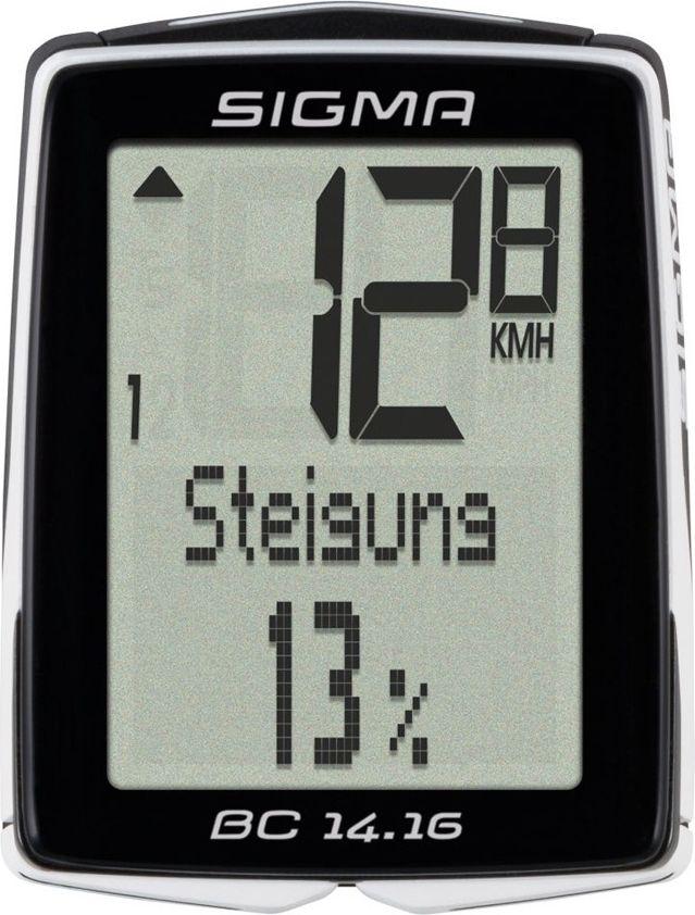 Велокомпьютер Sigma  Topline BC 14.16 , 14 функций - Велокомпьютеры