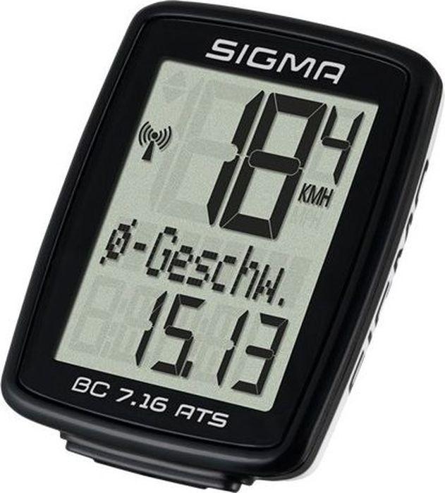 Велокомпьютер Sigma  Topline BC 7.16 ATS , 7 функций - Велокомпьютеры