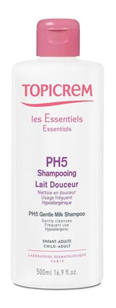 ollin шампунь для ежедневного применения рн 5 5 service line daily shampoo ph 5 5 1000 мл Topicrem Мягкий шампунь pH 5, 500 мл