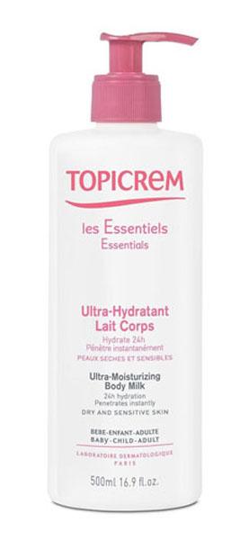 Topicrem Ультра-увлажняющее молочко для тела, 500 мл topicrem ультра увлажняющее молочко для тела 200 мл
