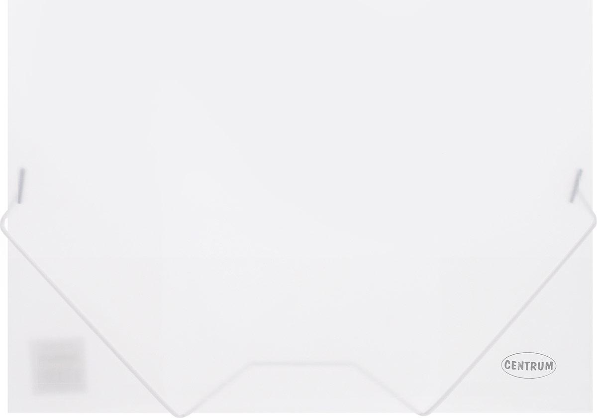 Centrum Папка на резинках формат А4 цвет прозрачный80016_прозрачныйПапка на резинке Centrum станет вашим верным помощником дома и в офисе. Это удобный и функциональный инструмент, предназначенный для хранения и транспортировки больших объемов рабочих бумаг и документов формата А4.Папка изготовлена из износостойкого высококачественного пластика. Состоит из одного вместительного отделения. Грани закруглены для дополнительной прочности и сохранности опрятного вида папки.Папка - это незаменимый атрибут для любого студента, школьника или офисного работника. Такая папка надежно сохранит ваши бумаги и сбережет их от повреждений, пыли и влаги.