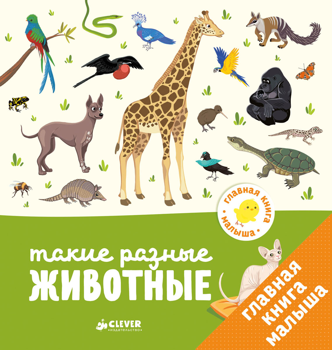 Главная книга малыша. Такие разные животные