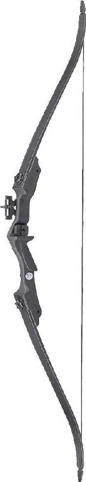 Лук рекурсивный Man Kung MK-RB007BK, для начинающих, с комплектом аксессуаров, цвет: черный, 20 Lbs охота стрелки стрельба из лука стабилизировать композитный лук стабилизатор резиновые аксессуары