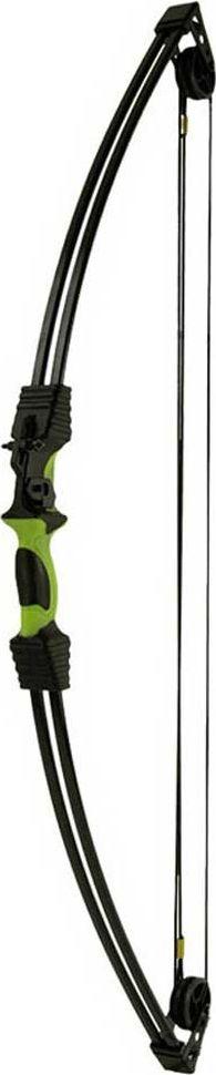 Лук блочный Man Kung MK-CB015, для начинающих, с комплектом аксессуаров, цвет: черный, зеленый, 12 Lbs аксессуар трос для блочного арбалета man kung mk 350c