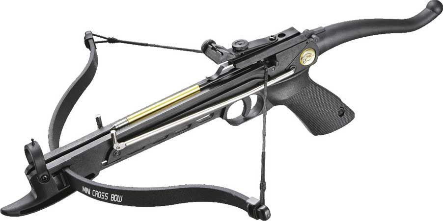 """Арбалет-пистолет """"Man Kung"""", цвет: черный, 80 lbs. MK/MK-80A4PL"""