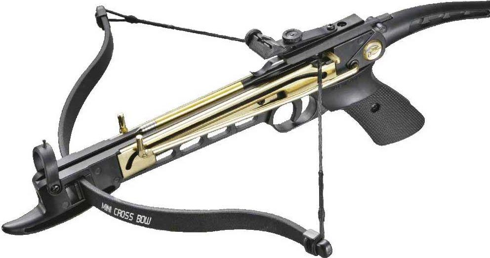 Арбалет-пистолет Man Kung, цвет: черный, 80 lbs. MK/MK-80A4AL аксессуар трос для блочного арбалета man kung mk 350c