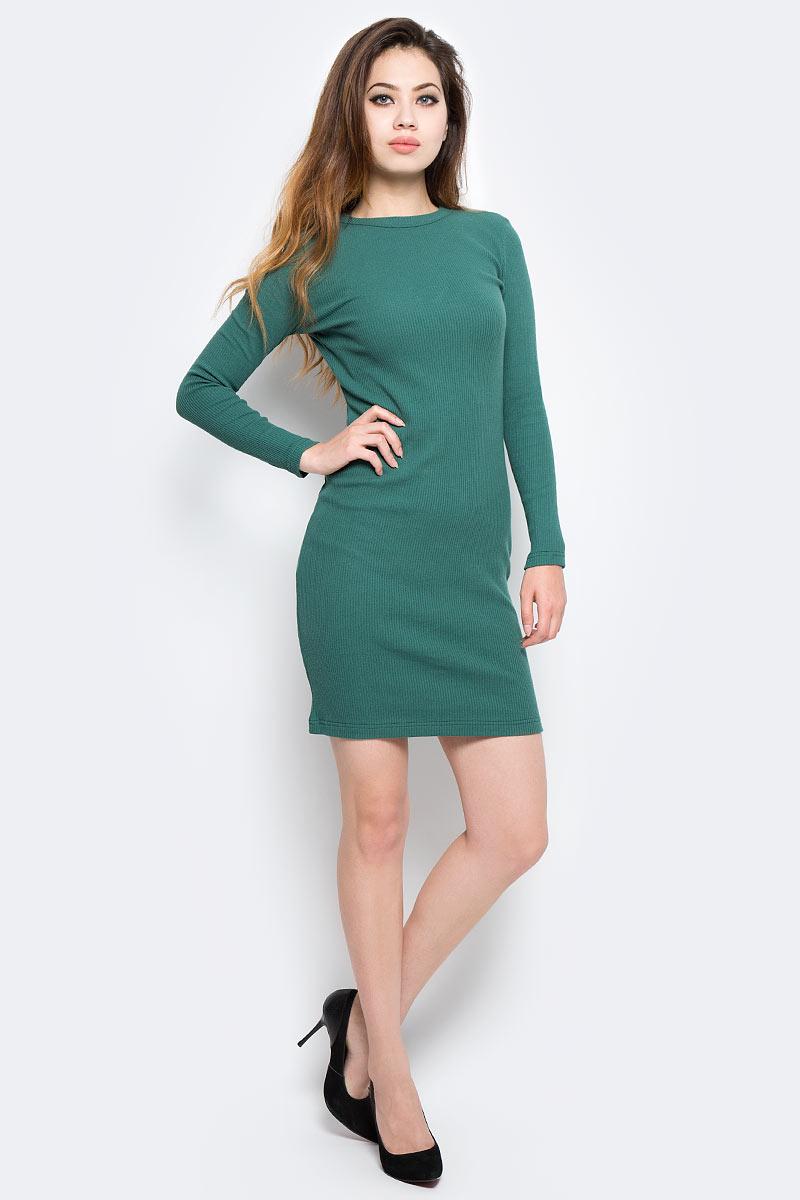 Платье Kawaii Factory, цвет: темно-зеленый. KW177-000072. Размер 42/46KW177-000072