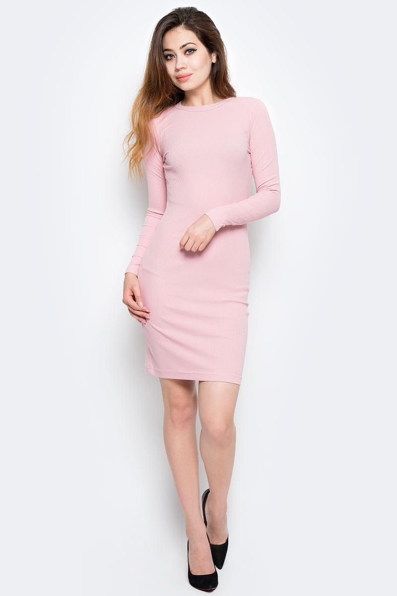 Платье Kawaii Factory, цвет: светло-розовый. KW177-000069. Размер 42/46 платье lavela цвет светло розовый