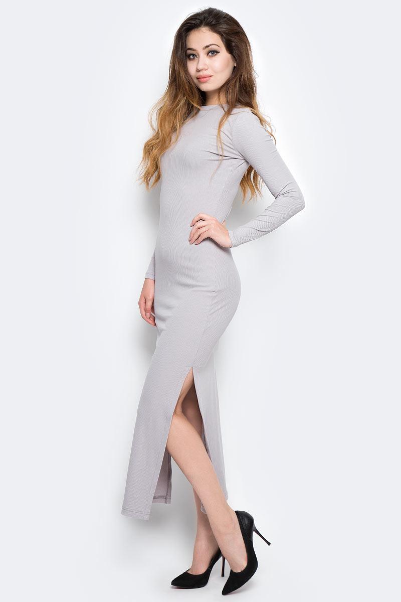 Платье Kawaii Factory, цвет: светло-серый. KW177-000062. Размер 42/46