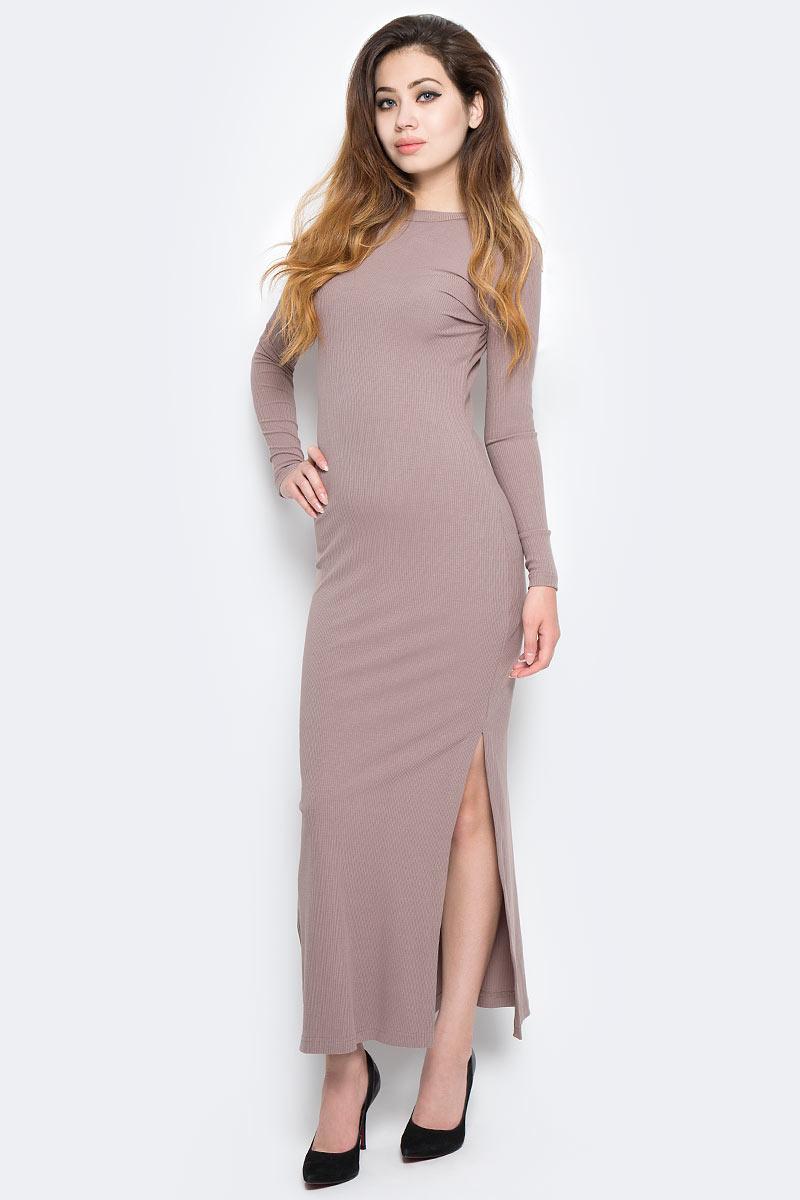Платье Kawaii Factory, цвет: светло-коричневый. KW177-000064. Размер 42/46 платье kawaii factory цвет черный kw177 000009 размер 42 46
