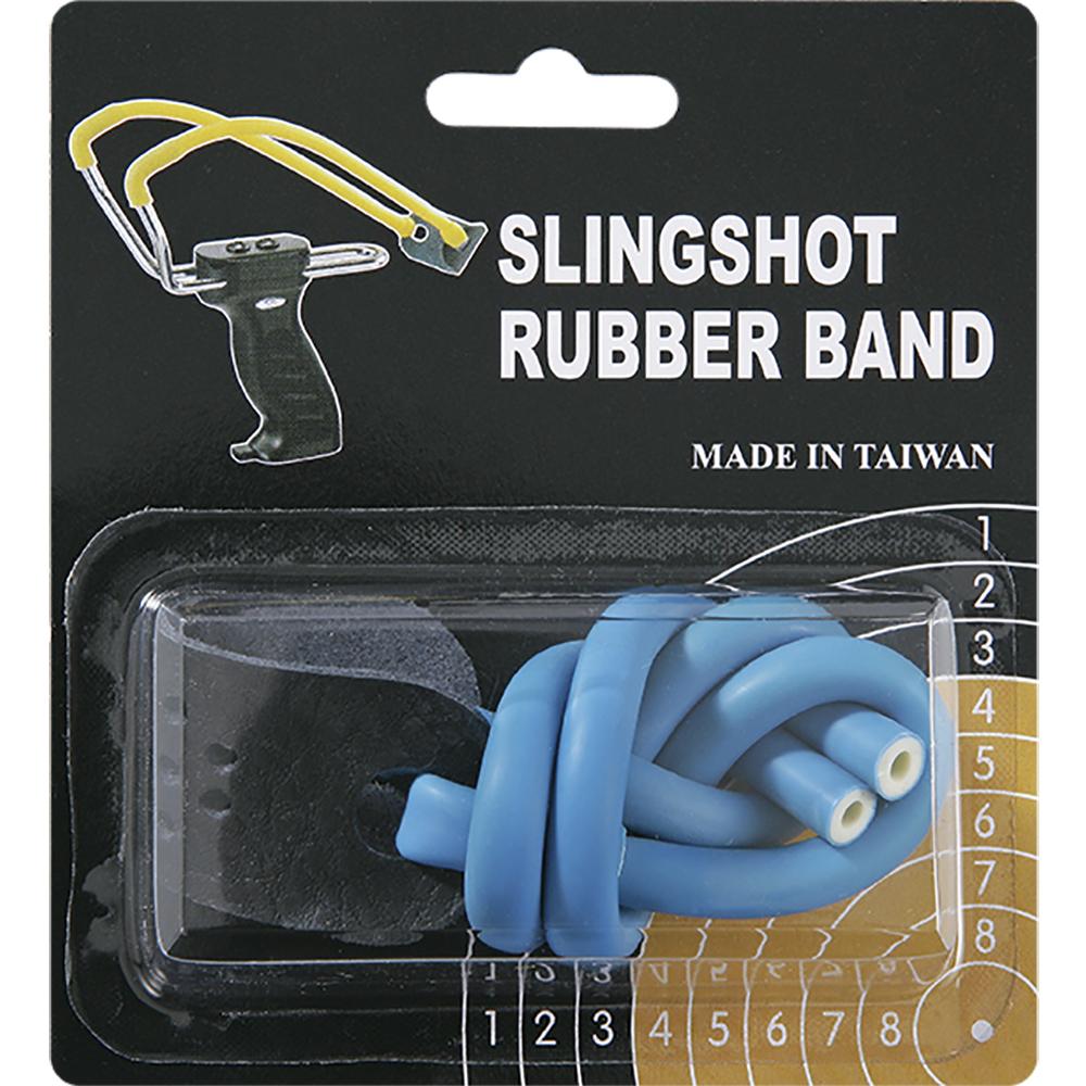 Резинка для рогатки Man Kung, цвет: синий, 25 см man kung 16