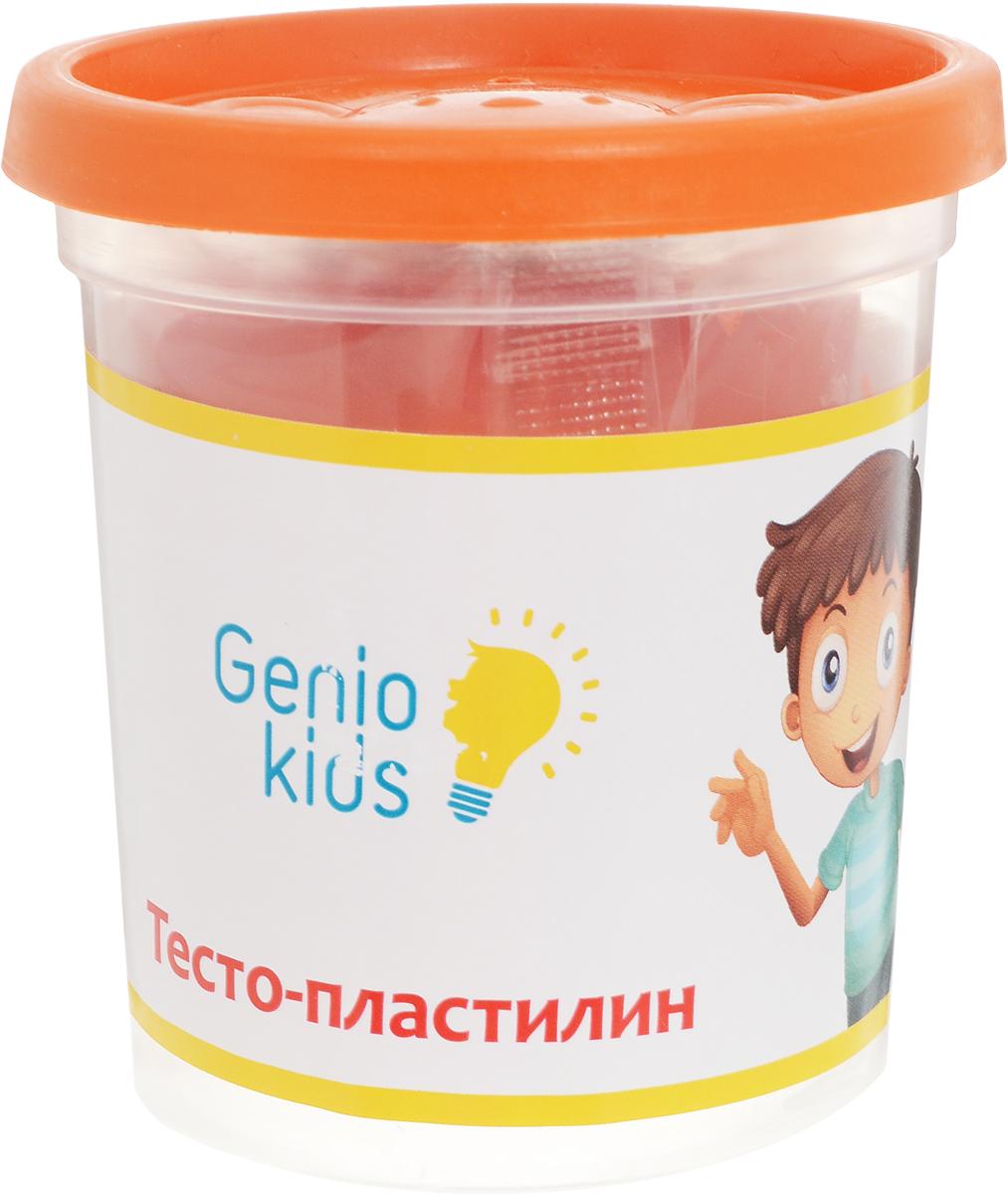Genio Kids Тесто-пластилин цвет оранжевыйTA1044V_оранжевыйТесто-пластилин Genio Kids - это натуральный и совершенно безвредный материал, созданный из пшеничной муки. Пластилин быстро высыхает, не имеет запаха, не липнет к рукам и одежде, легко смывается, а так же легко смешивается, что позволяет получать новые цвета. Пластилин прекрасно развивает моторику рук и пространственное мышление, а также воображение и художественный вкус. Фигурка, сделанная своими руками из пластилина, будет предметом гордости малыша и обязательно станет его любимой игрушкой.