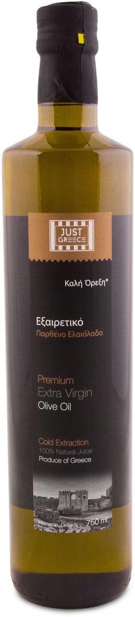 Just Greece Premium Extra Virgin оливковое масло, 750 млУТ000000975Оливковое масло Premium Extra Virgin Just Greece обладает ярко выраженным ароматом оливы и естественным горьковатым послевкусием. Оно идеально дополнит блюдо, подарив ему восхитительный средиземноморский вкус и слегка фруктовый аромат.