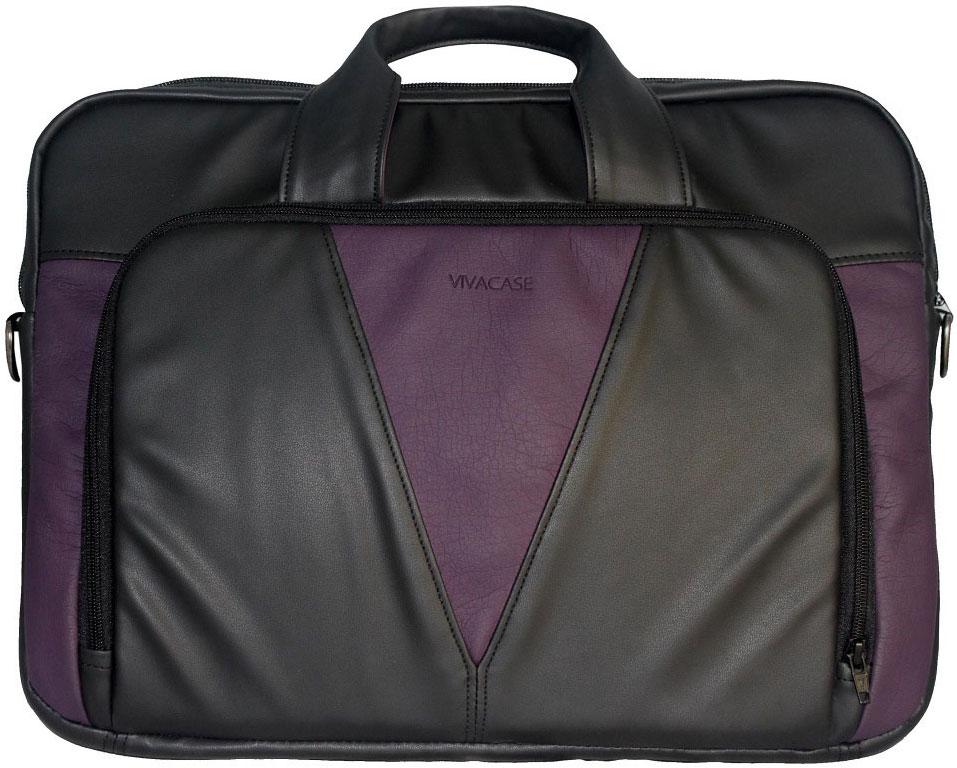 Vivacase Daily, Black сумка для ноутбука 15,6УТ000001329Сумка для ноутбука Vivacase Daily с диагональю 15,6 дюймов символизирует собой надежность и добротность. Сумка выполнена из высококачественной экокожи, которой не страшны ни осадки, ни заморозки. Это очень прочный материал, устойчивый к истиранию. Сумка долго не потеряет товарный вид, даже при самой жесткой эксплуатации.Основа сумки - специальный противоударный пористый материал, который обеспечивает максимальную защиту вашего ноутбука, при этом, не утяжеляя ее. Сумка Daily очень легкая и эргономичная для своих размеров.В сумке для ноутбука Daily предусмотрено одно отделение для компьютера с потайным карманом на молнии, куда можно убрать важные документы, такие как паспорт, а также вместительное внешнее отделение с органайзером внутри для вашего портмоне, пластиковых карт и писчих принадлежностей.Сумка Daily удобна для повседневной носки благодаря мягким ручкам в тон, которые не врезаются в ладонь и широкому наплечному ремню. Она незаменима в командировках, когда так важно иметь компьютер при себе. Элегантная и немаркая она послужит достойным дополнением к деловому образу.