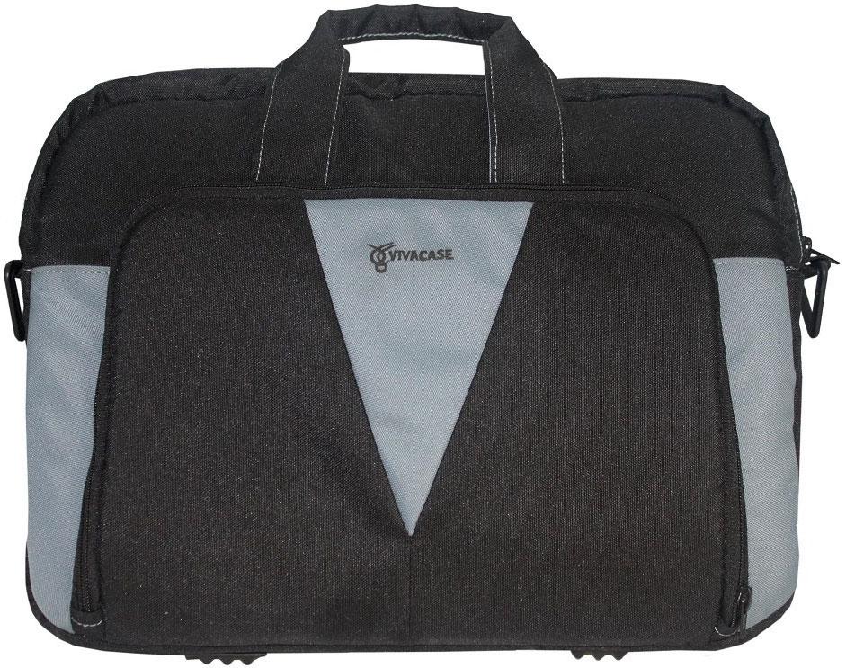 Vivacase Аssistant, Grey сумка для ноутбука 15.6УТ000001330Сумка для ноутбуков Vivacase Аssistant диагональю 15.6 дюймов стильная и эргономичная. Стильный дизайн неизбежно привлечет внимание и поможет ее владельцу выделиться из толпы.Сумка для ноутбука сшита из прочной ткани устойчивой к загрязнениям и истиранию. Не стоить бояться, что изделие быстро потеряет товарный вид. При изготовлении аксессуаров Vivacase используются только качественные материалы от проверенных поставщиков. Сумке не страшны ни грязь, ни осадки благодаря специальной водо - и грязеотталкивающей пропитке. Ее достаточно протереть влажной тряпочкой, чтобы избавиться от пятен.