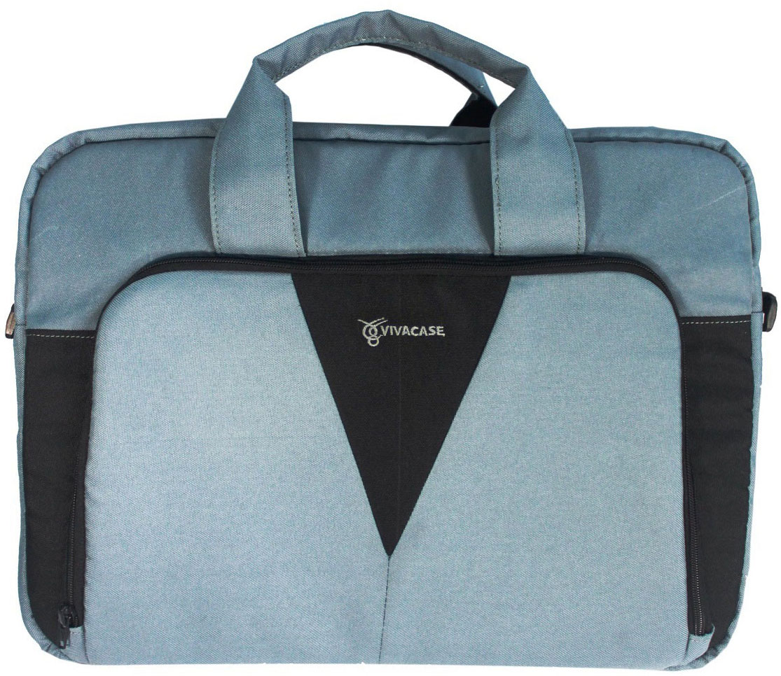 Vivacase Casual, Grey сумка для ноутбука 15,6УТ000001332Сумка для ноутбуков Vivacase Casual с диагональю 15,6 дюймов покорит вас своим универсальным лаконичным дизайном. Мастерски подобранные оттенки серого и черного цветов делают ее уместной в любой ситуации.Сумка для ноутбуков Casual удобна и эргономична. Основанием сумки служит высокотехнологичный, противоударный, пористый материал двойного сложения, который надежно защитит ваш ноутбук от механических повреждений. При этом сумка чрезвычайно легкая и компактная. Мягкие ручки в тон не давят на ладонь и не причиняют дискомфорт при ношении. Также конструкцией предусмотрен широкий наплечный ремень.Сумка изготовлена из качественных материалов, таких как Оксфорд со специальной водоотталкивающей пропиткой. Оксфорд - это очень прочный материал, устойчивый к истиранию и загрязнениям. Даже в самый сильный дождь не будет страшен вашему ноутбуку, если его сохраняет сумка Casual от Vivacase.В сумке предусмотрено одно отделение для компьютера и внутренней карман для аксессуаров.Внешний карман на молнии оснащен специальным органайзером, куда можно убрать портмоне, пластиковые карты, мобильный телефон, пишущие принадлежности. Все предметы находятся в быстром доступе.Отправляйтесь в дорогу с удобной и легкой сумкой для ноутбука Vivacase Casual!