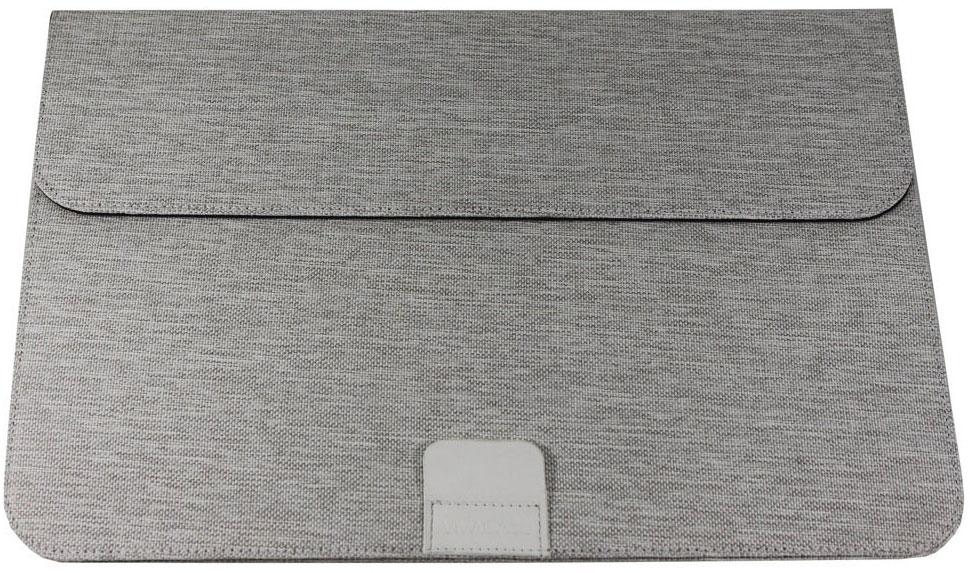 Vivacase Jacquard, White чехол для MacBook Air 12-13,3УТ000001642Папка Jacquard специально разработана для компьютеров MacBook Air 12-13,3 дюймов.Дизайн папки продуман таким образом, чтобы предотвратить перегревания ноутбука во время работы. Папку можно свернуть таким образом, чтобы получилась удобная подставка, при этом будет сохраняться зазор между поверхностью папки и дном устройства, что способствует его вентиляции.Папка для ноутбука изготовлена из ткани Жаккард, которая благодаря специальному покрытию, обладает удивительной проточностью и износостойкостью. Материал приятен на ощупь и легко чистится. В основе изделия находится картон, который обеспечивает необходимую жесткость и защиту устройства от механических повреждений. Папка необыкновенно токая – всего 4 мм, но при этом и надежная. Вы можете быть уверены, что она очень долго сохранит прекрасный внешний вид.Лаконичный классический дизайн делает папку для MacBook Air уместной в любой ситуации. Она подойдет как к строгому классическом костюму, так и к одежде в стиле casual. Папка смотрится сильно и гармонично в сочетании с любым образом и станет достойным аксессуаром для вашего ноутбука.