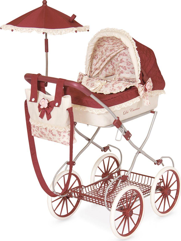 DeCuevas Коляска для куклы Мартина с сумкой и зонтиком ультима коляска