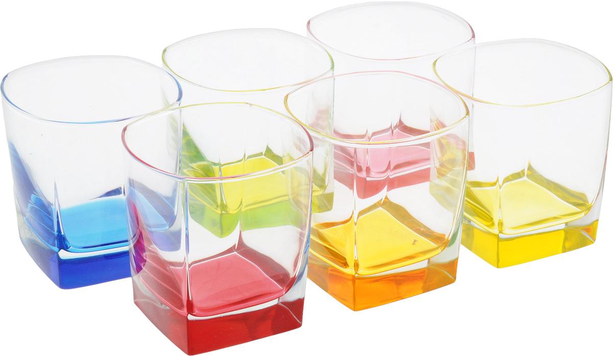 Набор стаканов Luminarc Стерлинг Брайт Колорс, низкие, 300 мл, 6 штJ8935Набор Luminarc Стерлинг Брайт Колорс состоит из 6 стаканов, выполненных извысококачественного стекла. Изделия подходят для воды, виски и других напитков.Такой набор станет прекрасным дополнением сервировки стола, подойдет для ежедневногоиспользования и для торжественных случаев. Можно мыть в посудомоечной машине. Объем стакана: 300 мл.Диаметр стакана: 8 см.Высота стакана: 8,5 см.