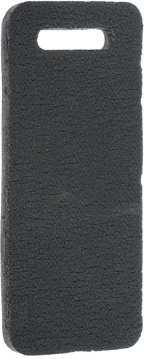 Коврик для садовых работ Eva цвет: серый, 42 х 18,5 х 1,5 смК014_серыйМягкий дачный коврик для сидения Eva, изготовленный из пенополиэтилена, имеет небольшие размеры. Он обеспечит вам удобство ичистоту одежды. Такой коврик обладает закрытой пористой структурой, за счет чего он характеризуется небольшим весом, низкой теплопроводностью, хорошими водоотталкивающими свойствами и прочностью. Поэтому он наилучшим образом приспособлен для сидения на сырой и холодной земле (под открытым небом, в палатке или спальнике). Изделие оснащено удобной ручкой для переноски.