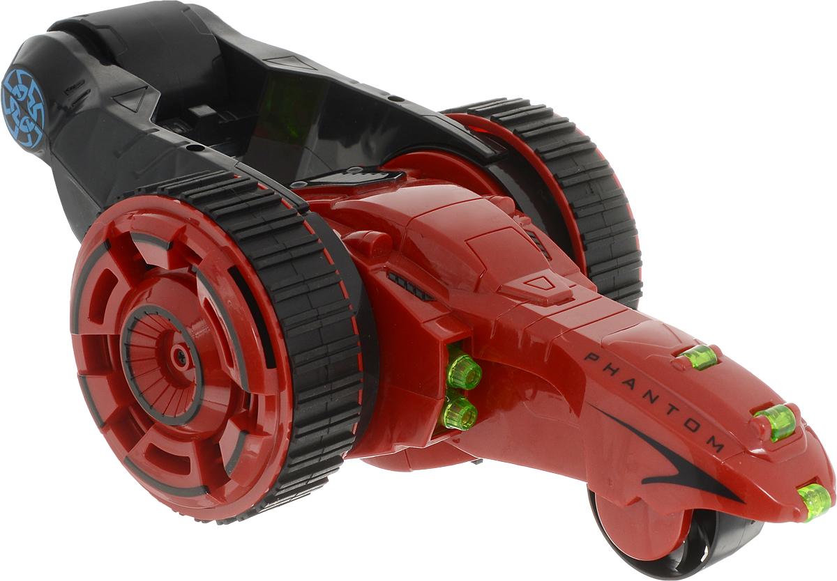 MKB Машинка на радиоуправлении Перевертыш трюковая 4 колеса цвет красный