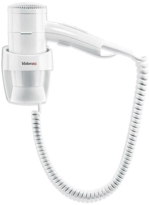 Valera Premium 1200 Super, White фен533.03/038AНастенный фен Valera Premium 1200 Super фронтального крепления превосходно подойдет для домашнего использования и поможет быстро и легко высушить и уложить волосы. Фен оснащен режимом подачи холодного воздуха. Безопасная кнопка включения/выключения на держателе обеспечит подачу воздуха только при нажатии. Фен работает в трех температурных режимах и в двух режимах интенсивности подачи воздуха, который переключаются с помощью ползунка.