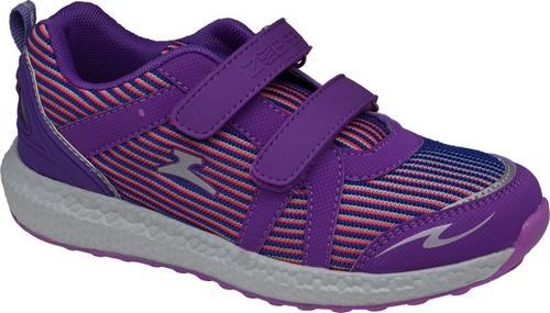 Кроссовки для девочки Зебра, цвет: сиреневый. Размер 35 зебра зебра кроссовки синие