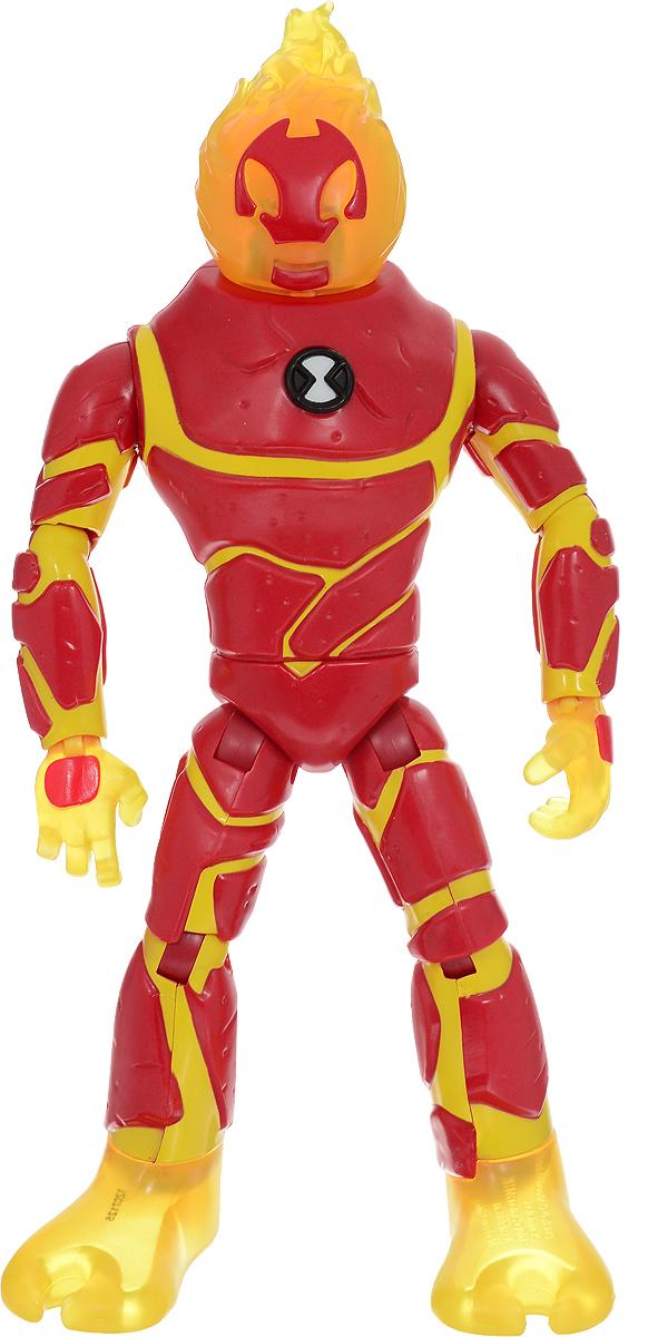Ben 10 Фигурка Человек-огонь игрушки интерактивные ben 10 ben 10 часы омнитрикс