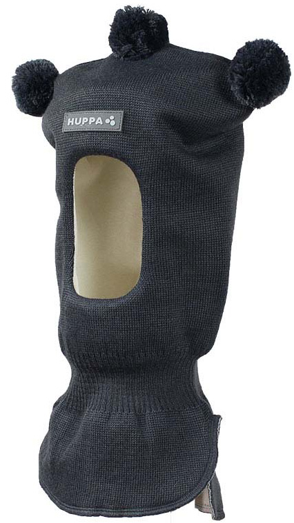 Шапка-шлем детская Huppa Coco, цвет: серый. 85070000-70048. Размер S (47/49) шапка шлем детская huppa huppa шапка шлем coco 1 белая