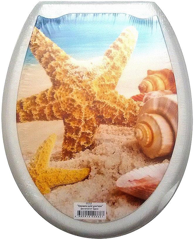 """Сидение для унитаза DeLuxe """"Бриз"""" выполнено из полипропилен (пластик) и оформлено красочным рисунком с изображением морских ракушек. Рисунок на поверхности нанесен с помощью высококачественной пленки, стоек к истиранию и долговечен. Сидение легко мыть. Фотопринты повторяют дизайны противоскользящих ковриков.В комплекте четыре пластиковые опоры, расстояние между центрами крепежа 150-170 мм. Такое сиденье стильно дополнит интерьер вашей ванной или туалетной комнаты.Размер сиденья: 45 х 37 см."""